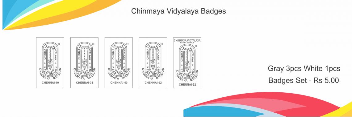 Chinmaya Vidyalaya Badges